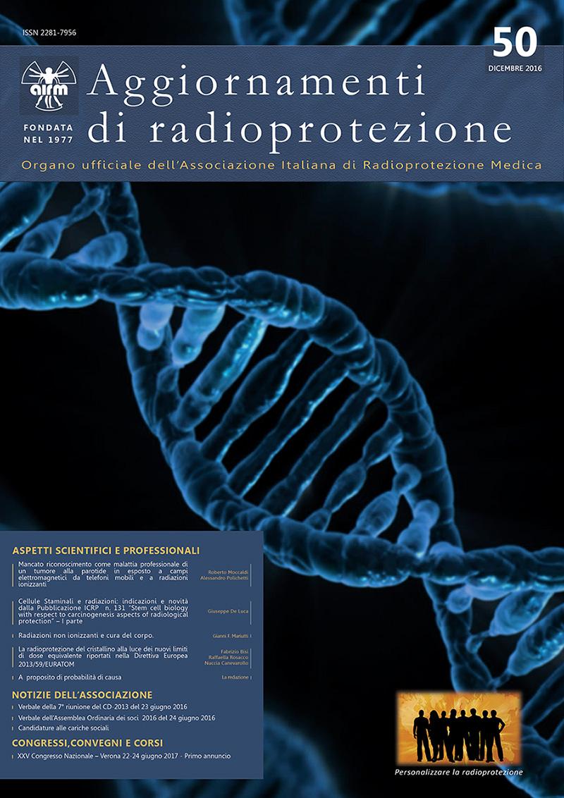 Aggiornamenti di radioprotezione N.50