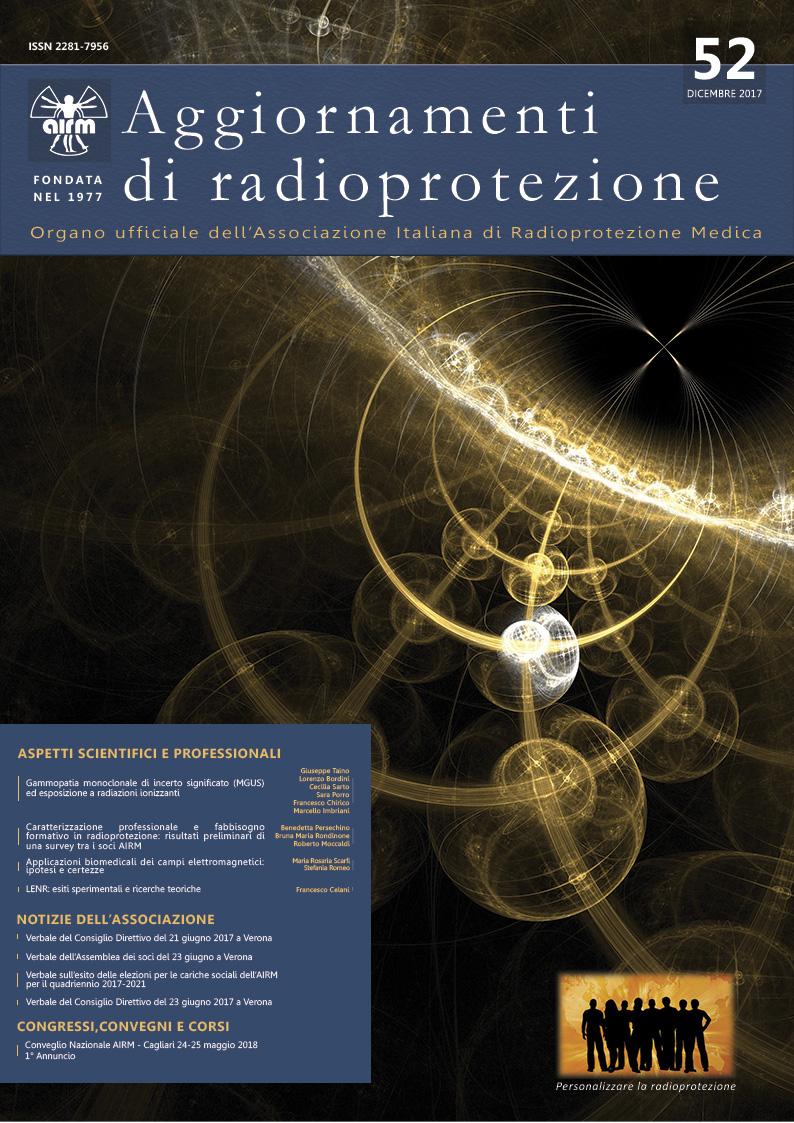 Aggiornamenti di radioprotezione n.52