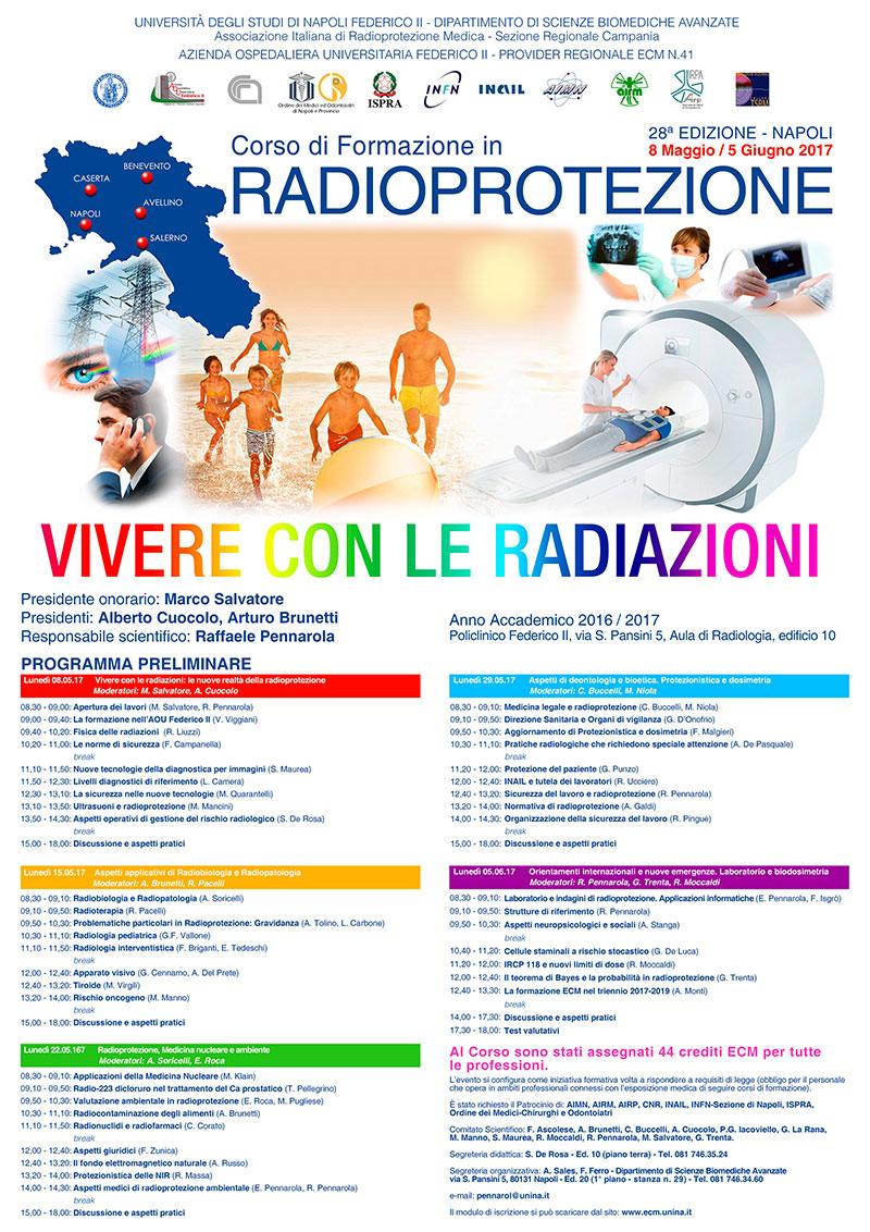 Corso di formazione in radioprotezione: vivere con le radiazioni