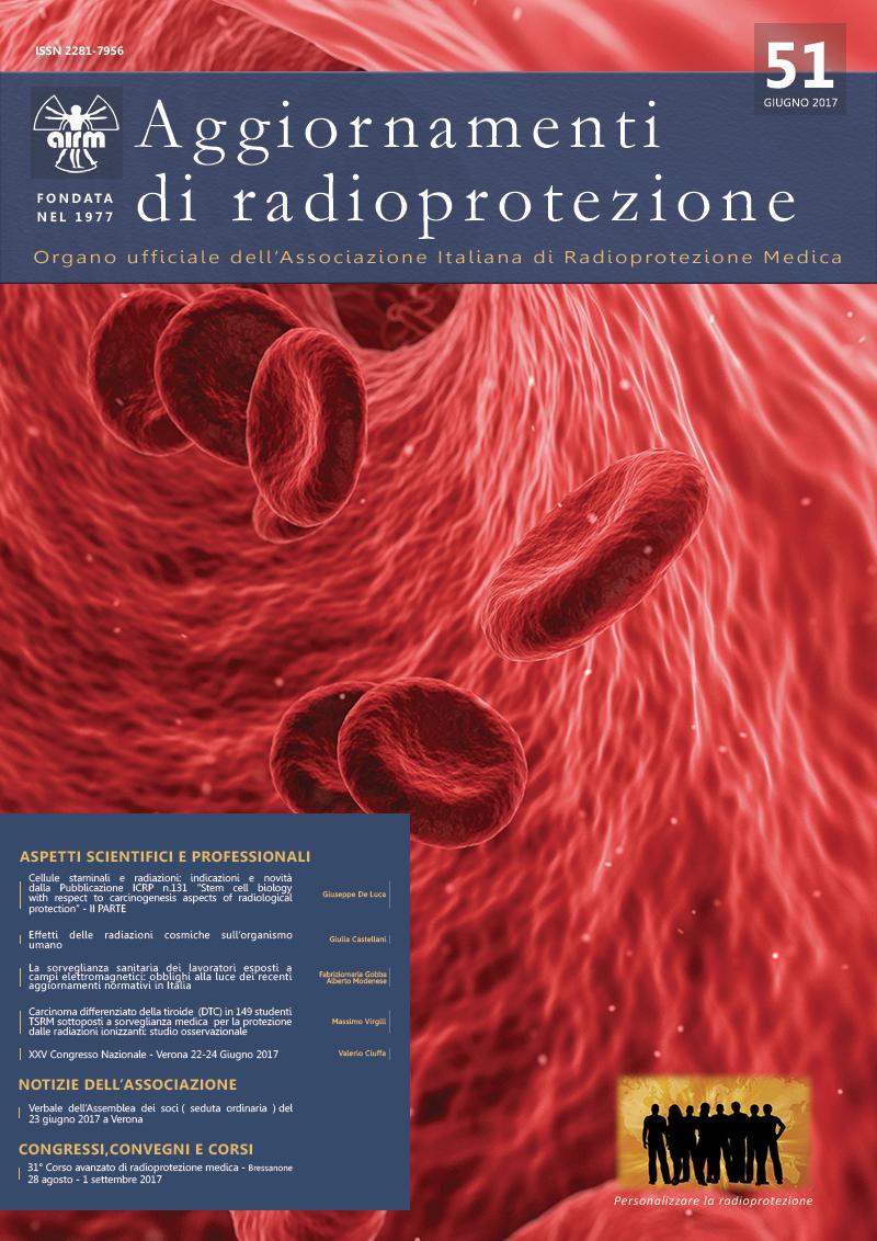 Aggiornamenti di radioprotezione n.51