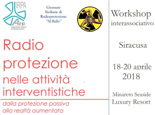 Siracusa - 18-20 aprile 2018 -radio protezione nelle attività interventistiche